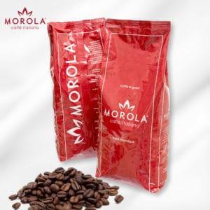 Caffè Morola rosso in grani